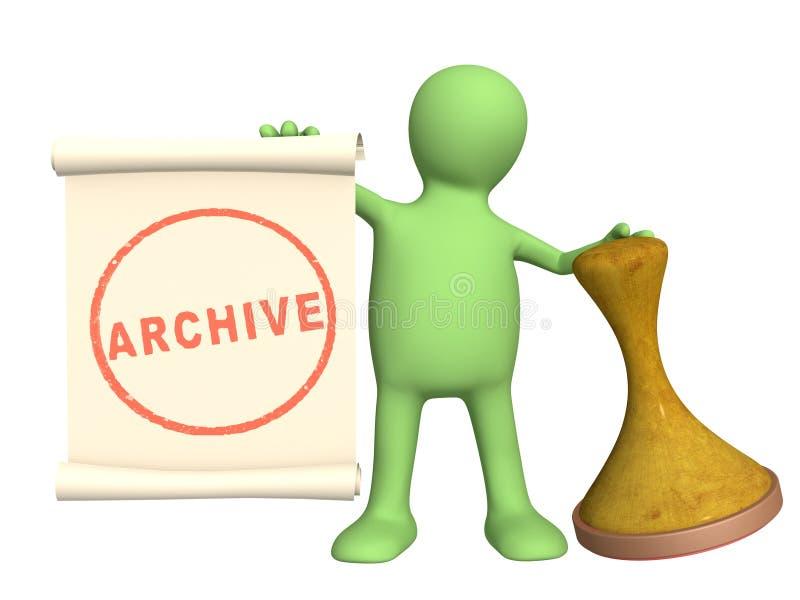 Archiv lizenzfreie abbildung