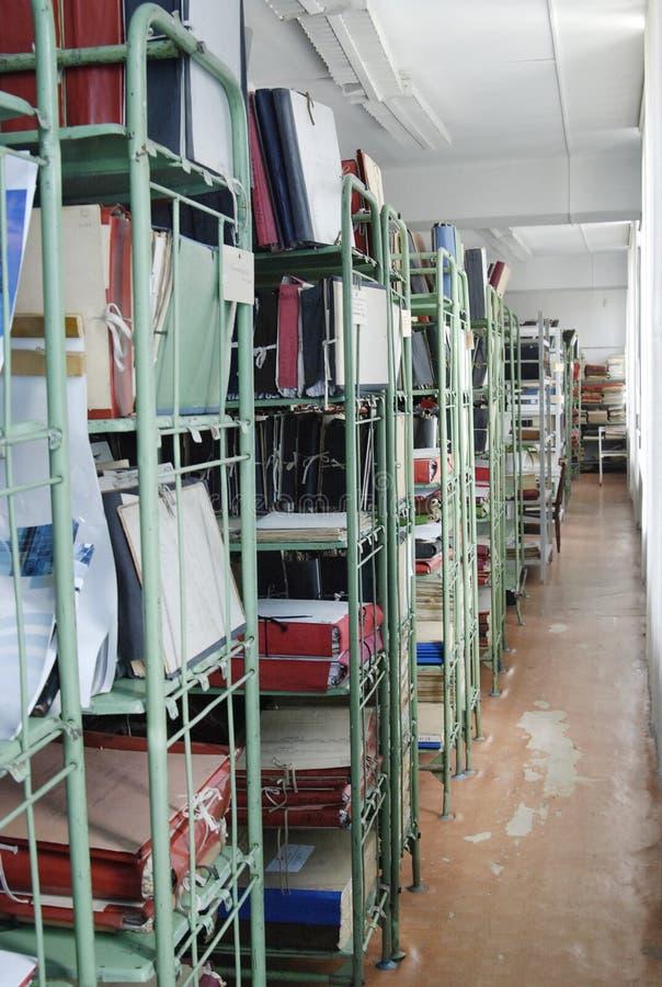 Archiv stockbild