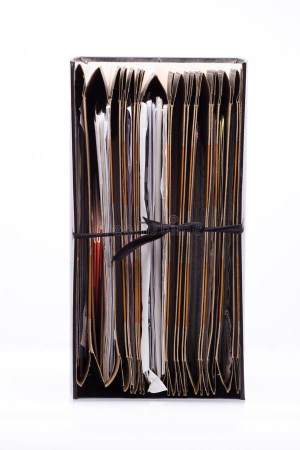 Archivar lizenzfreies stockfoto