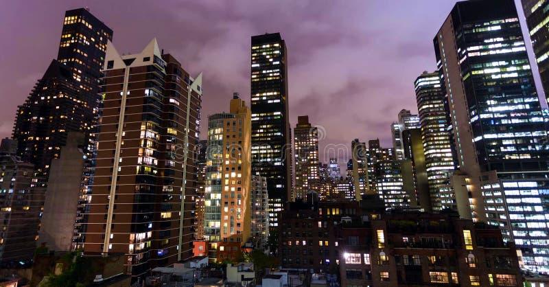 Archivbild der Skyline von New York, USA lizenzfreie stockbilder