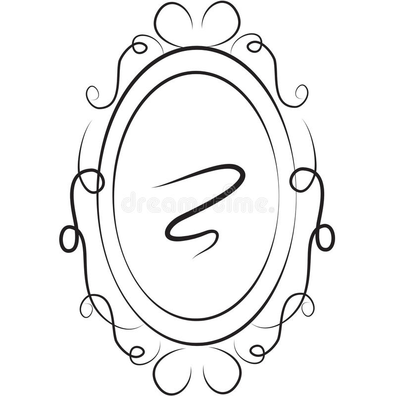 Archivbild: Spiegel vektor abbildung