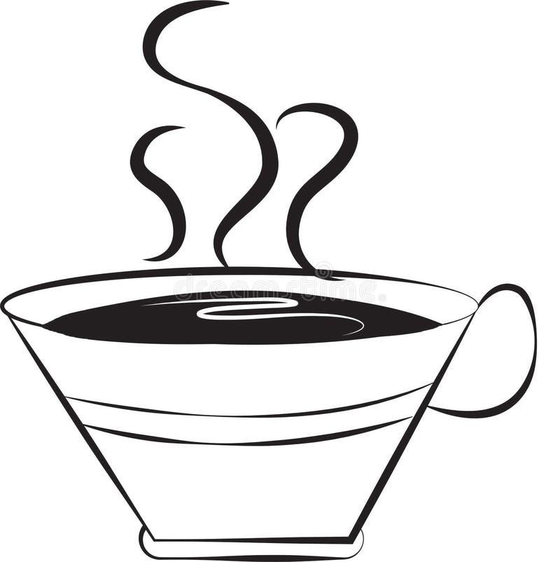 Archivbild: Tasse Kaffee lizenzfreie abbildung