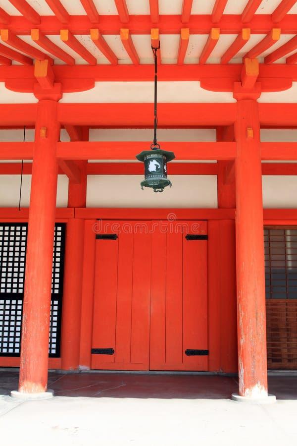 Archivbild von Heian-Schrein, Kyoto, Japan stockfotografie