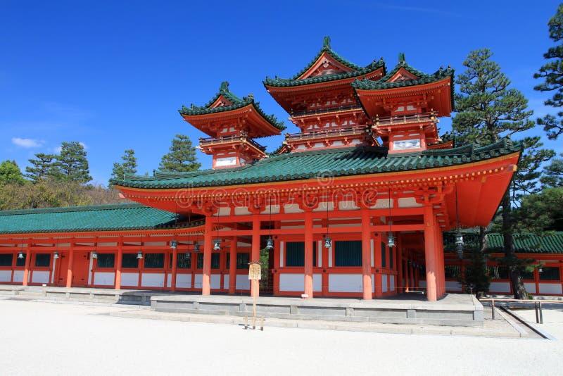 Archivbild von Heian-Schrein, Kyoto, Japan stockbilder
