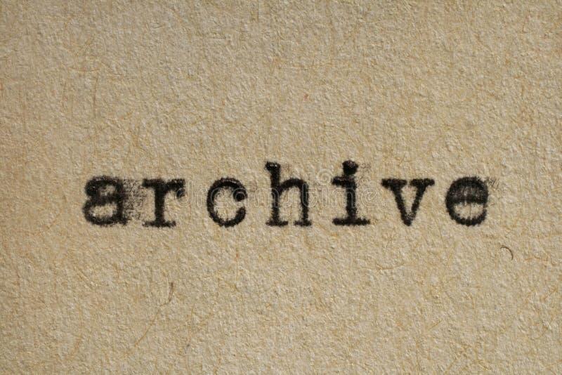 Archive Stock Photos