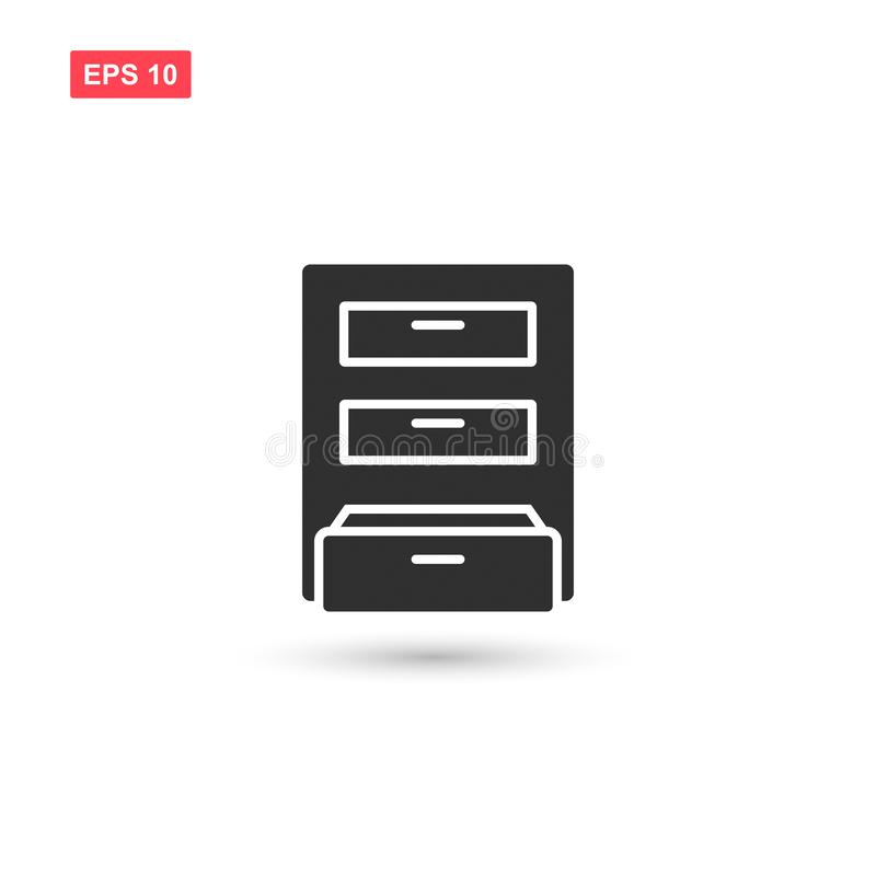 Free Archive Box Icon Vector Isolated 12 Stock Images - 138740784