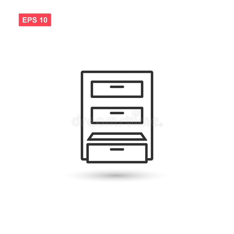 Archive box icon vector isolated 11. Eps10 vector illustration