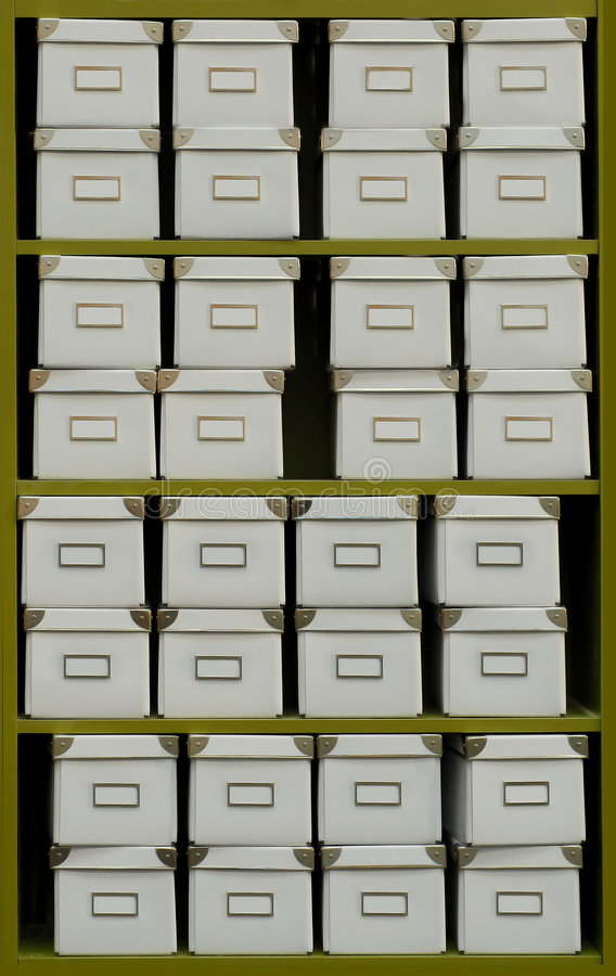 Download Archive Boxes Stock Images - Image: 2197054