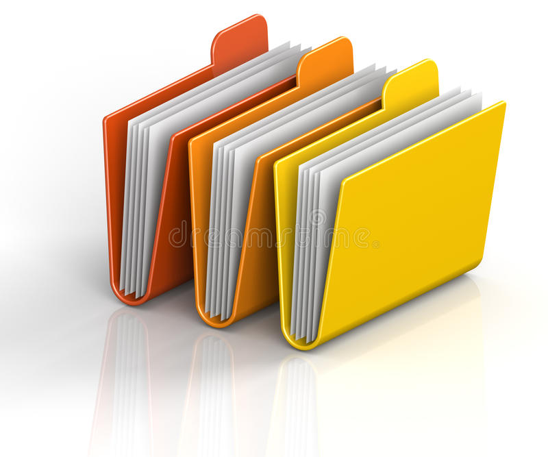 Download Archive Folders Stock Images - Image: 17212524