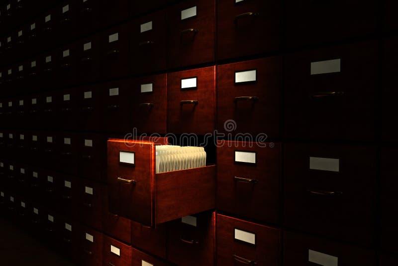 Archive Room stock photo