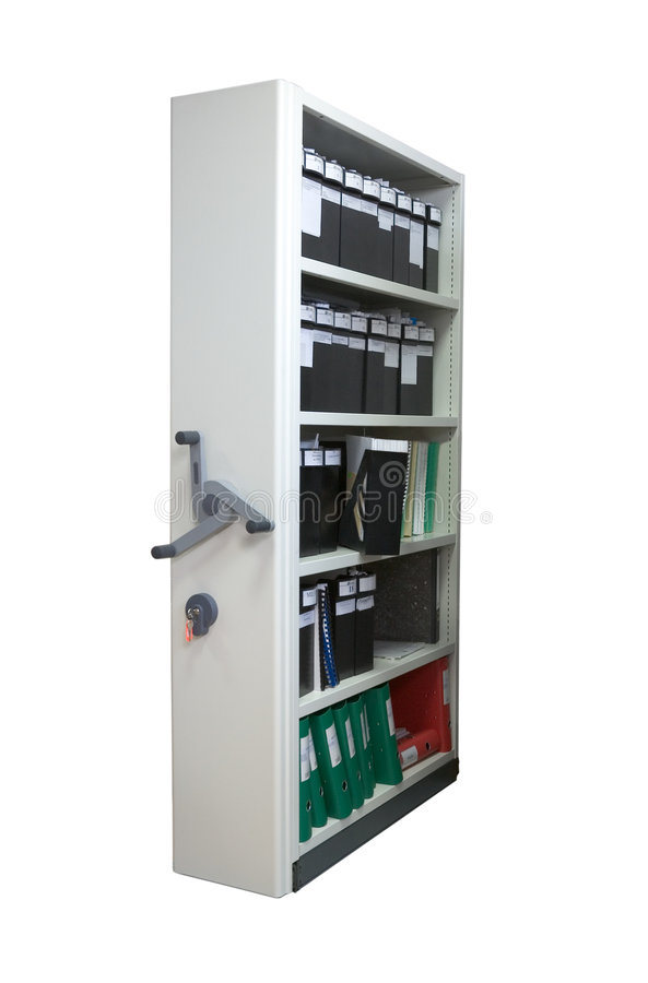 Archive storage stock image
