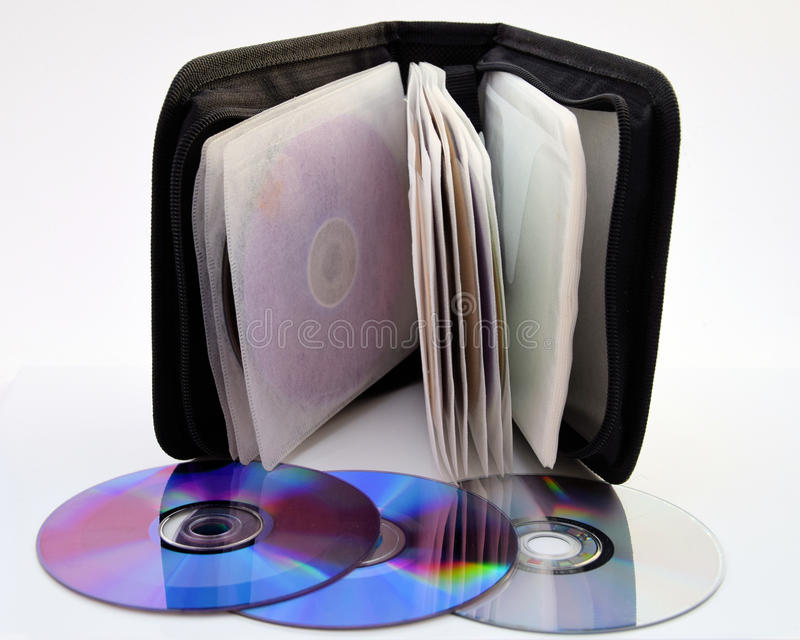 Archiver do CD imagens de stock
