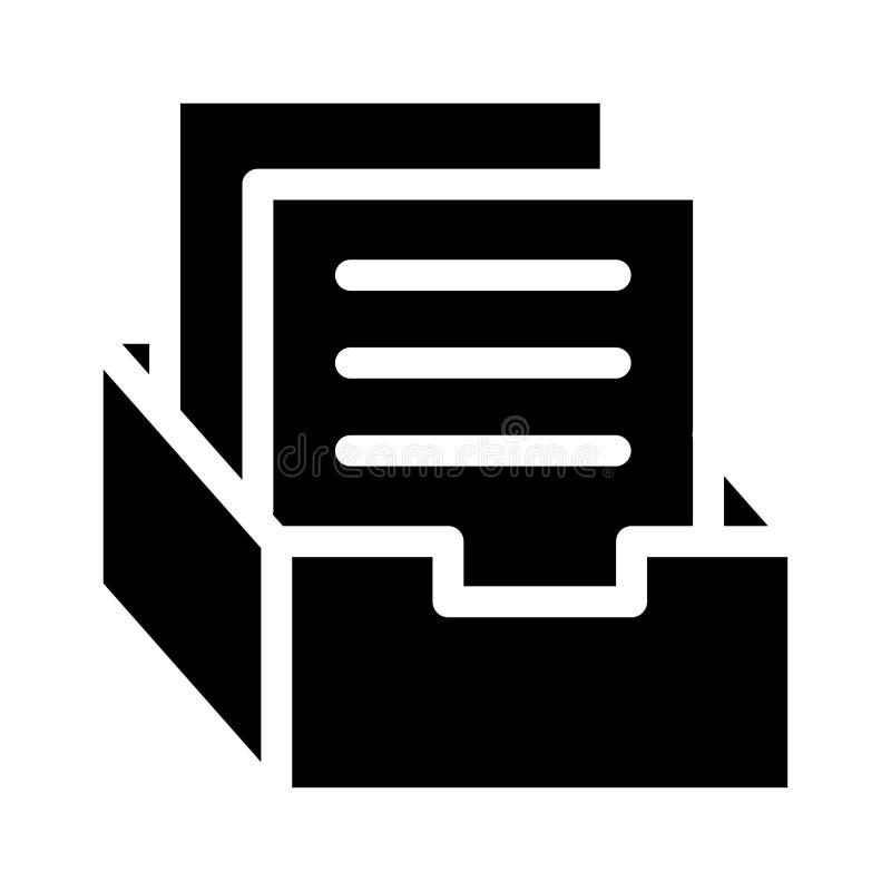 Archivikone stock abbildung