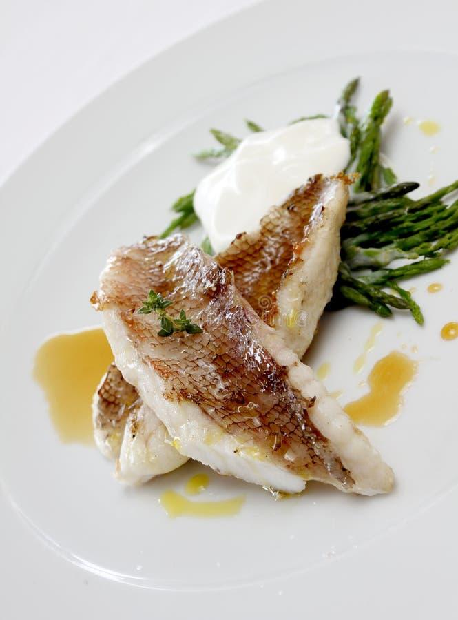 Archivio del pesce immagine stock