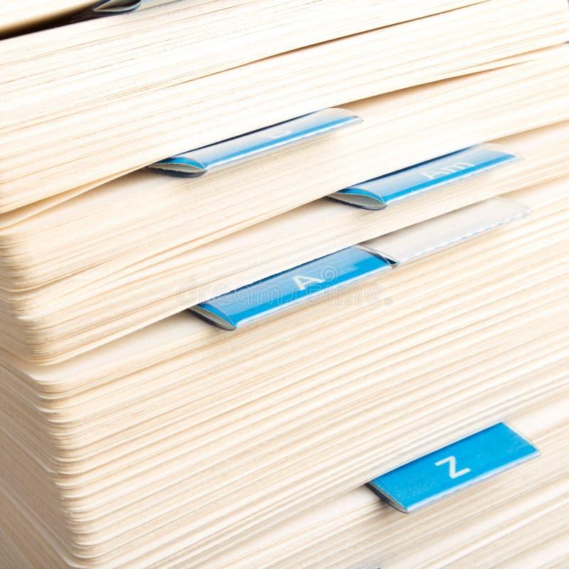 Archivio di scheda rotativo immagini stock