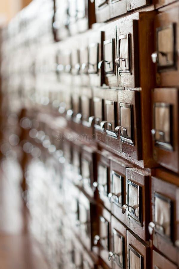 Archivistische cel stock fotografie
