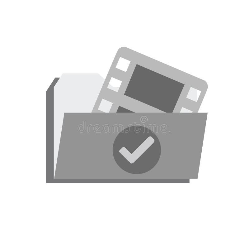 Archivo de vídeo terminado fotos de archivo libres de regalías