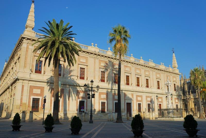Archivo General De Indias, Sevilla Imagen de archivo