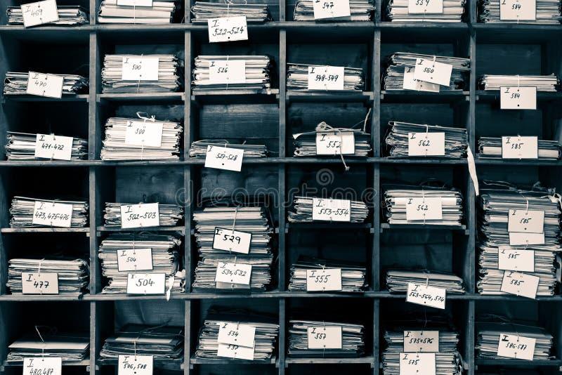 Archivo viejo fotos de archivo libres de regalías