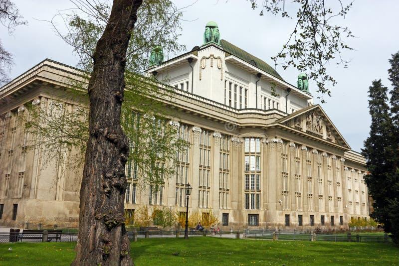 Archivos de estado croatas, Zagreb imagen de archivo
