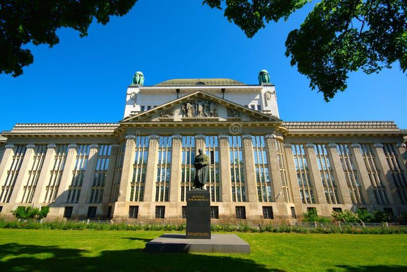 Archivos de estado croatas, Zagreb, Croacia imagen de archivo libre de regalías