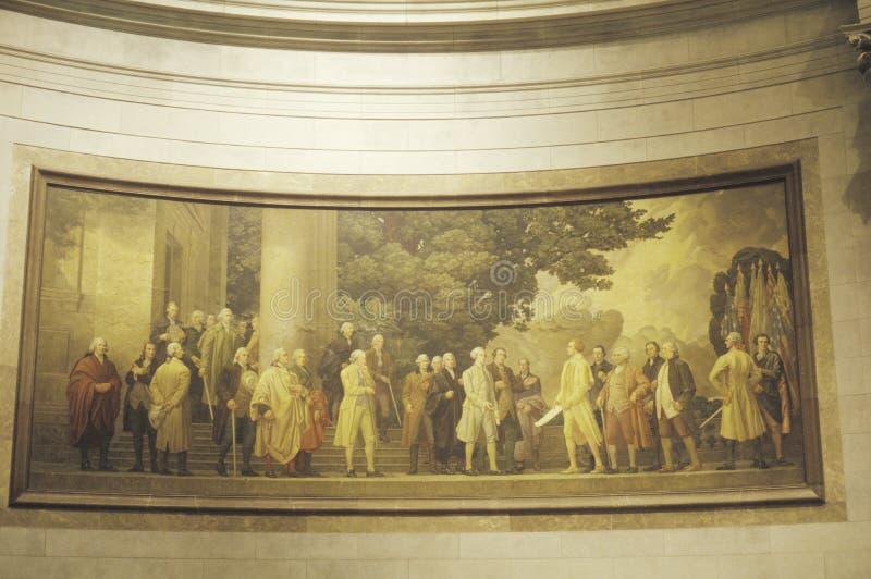 Archivos nacionales foto de archivo libre de regalías