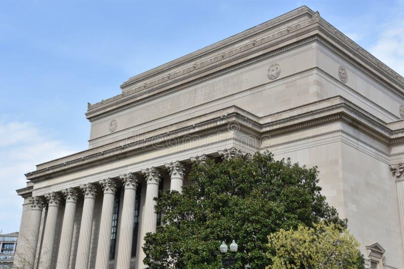 Archivos nacionales en Washington, DC imagenes de archivo