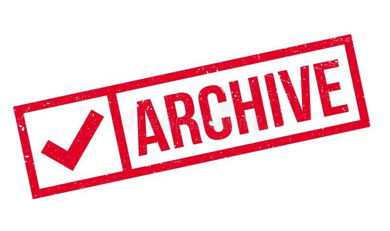Archivstempel lizenzfreie stockbilder