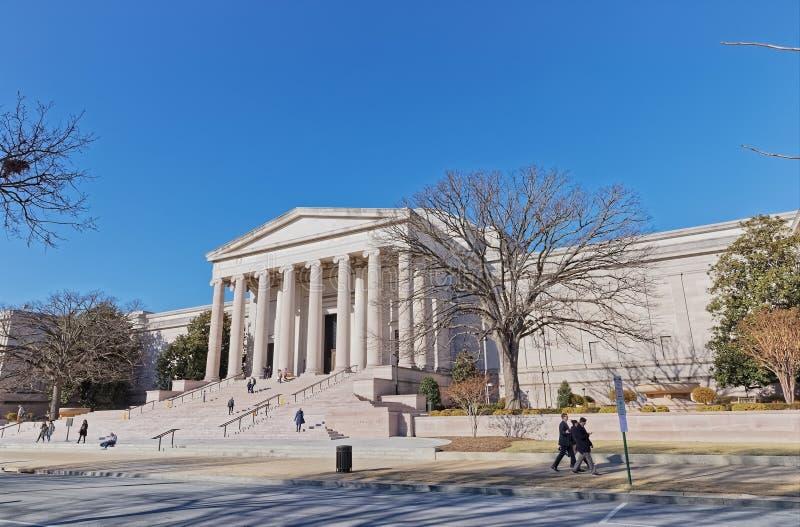 Archiwa Amerykański muzeum sztuki w washington dc usa zdjęcie royalty free