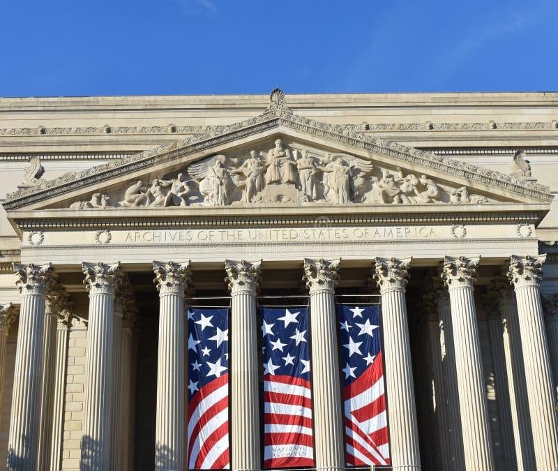 Archiwa Stany Zjednoczone Ameryka budynek zdjęcia royalty free