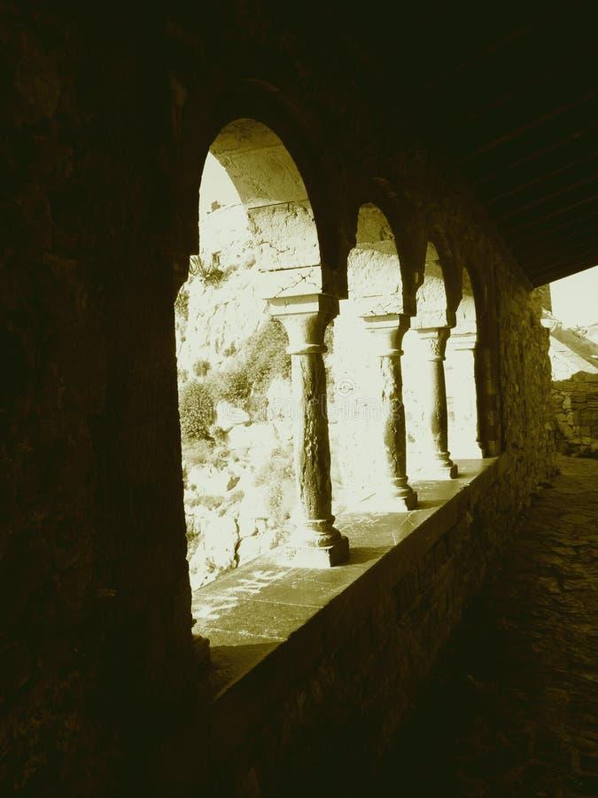 Archs à Porto Venere photographie stock libre de droits