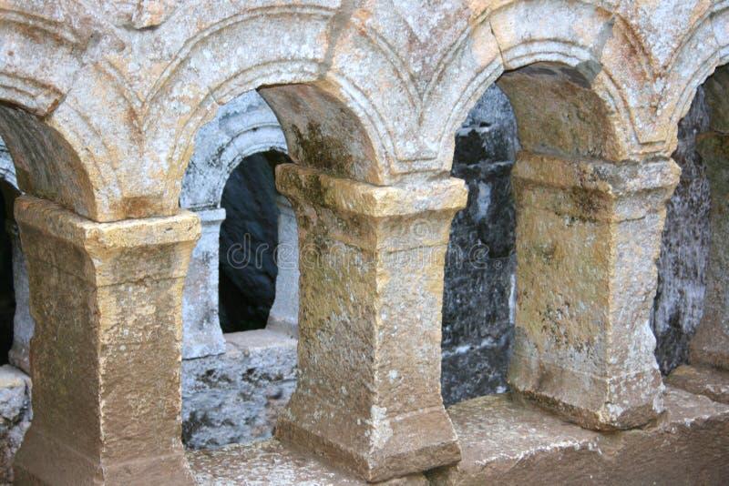 Archs antique photo stock