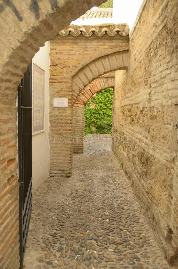 Download Archs In The Big Old Souk In Cordoba Stock Photo - Image: 26465560