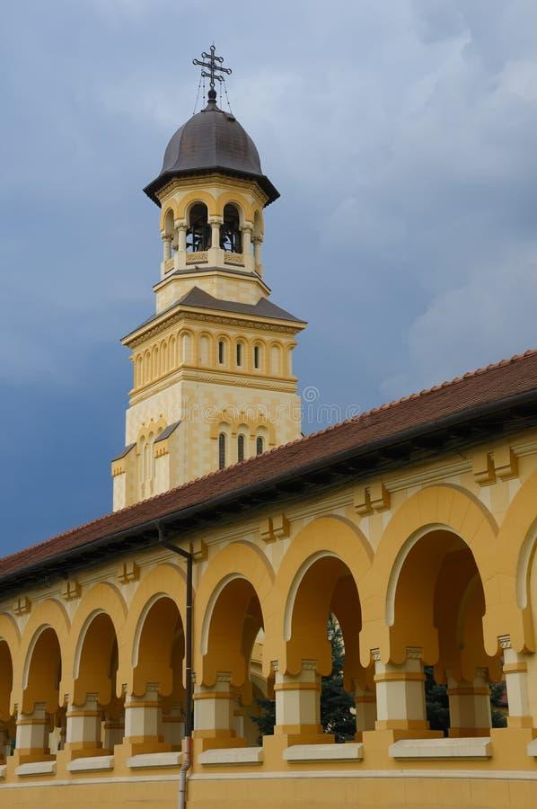 Archway de uma abadia ortodoxo fotografia de stock royalty free