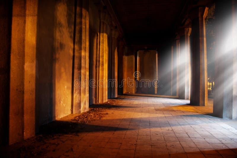 Archway di pietra fotografie stock libere da diritti