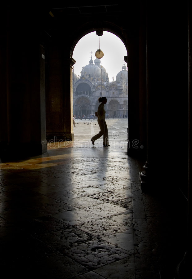 Archway di Venezia fotografia stock libera da diritti