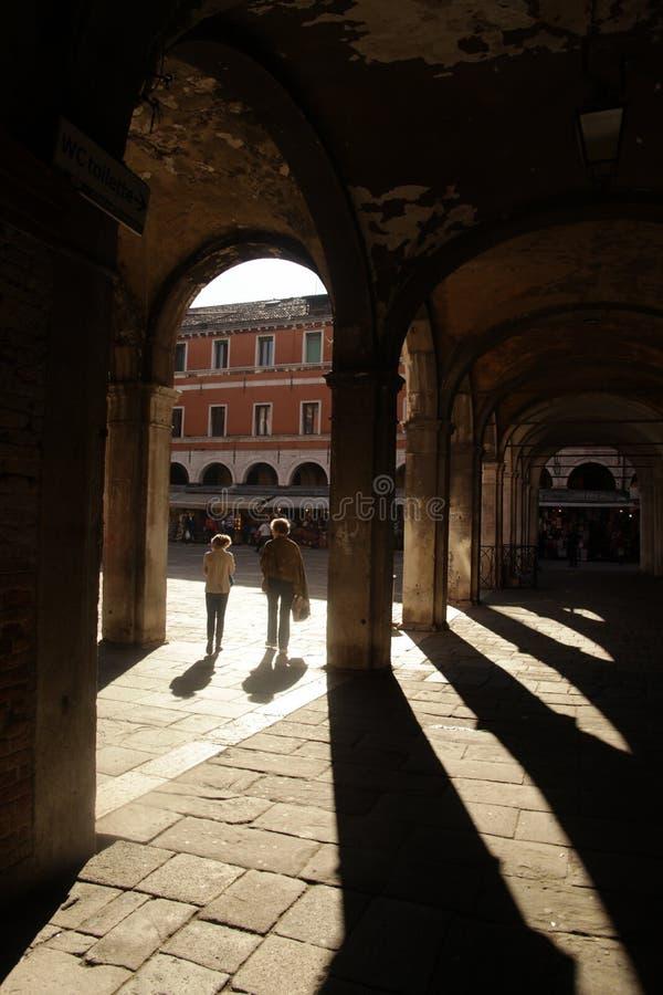 Archway i filary zdjęcia stock