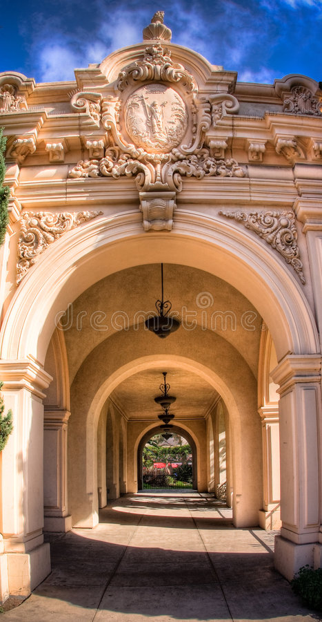 Free Archway In Balboa Park Stock Photo - 7054060