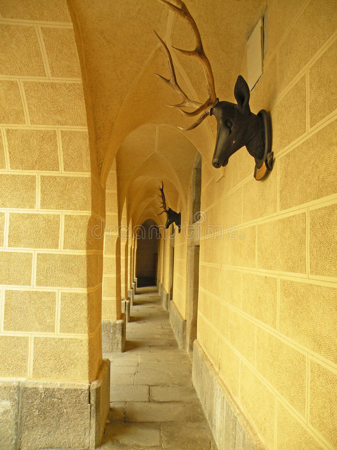 Free Archway With Deer Antlers Royalty Free Stock Photos - 10753058