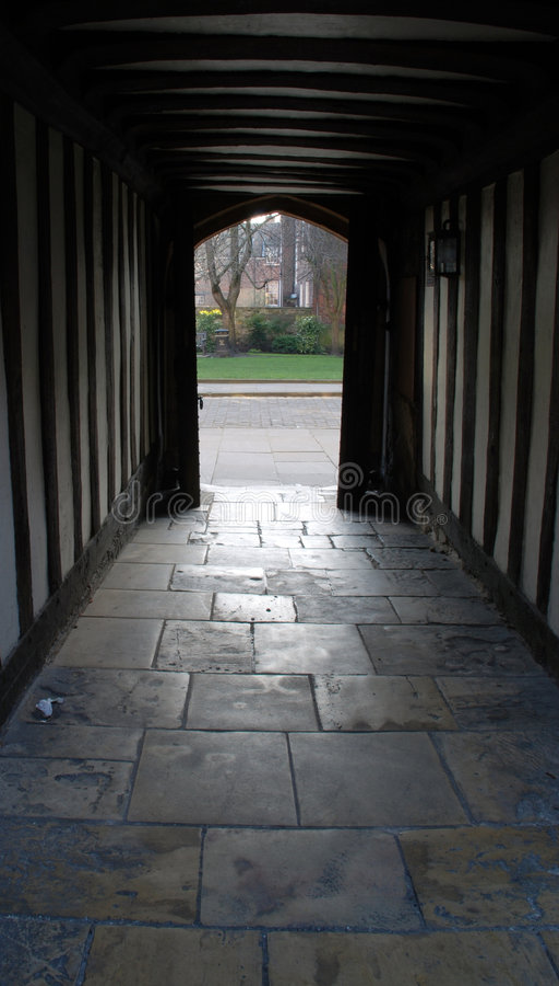 Archways de Tudor imagem de stock royalty free