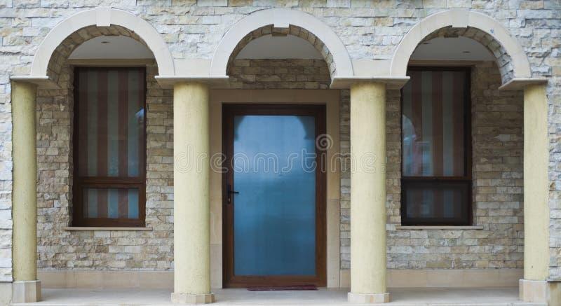 Archways di pietra fotografia stock libera da diritti