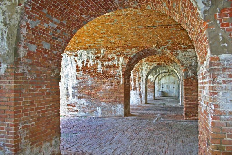 Archways (orizzontali) immagine stock libera da diritti
