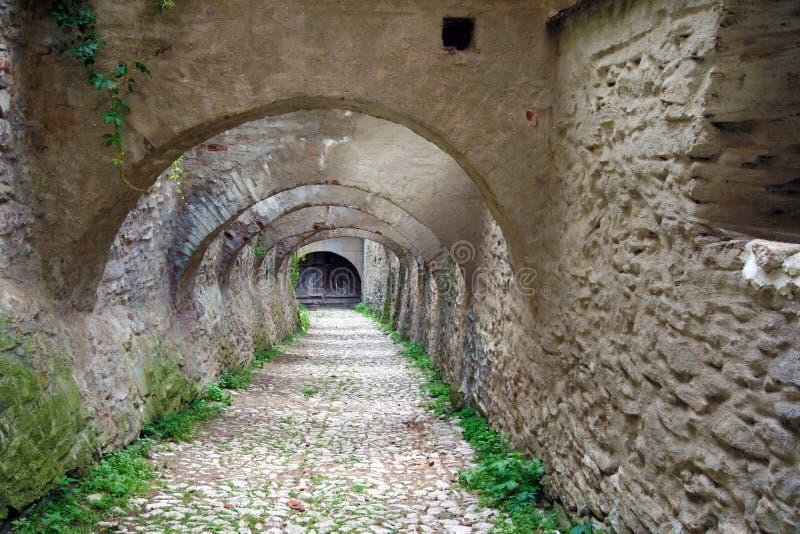 Archways passage royalty free stock photos