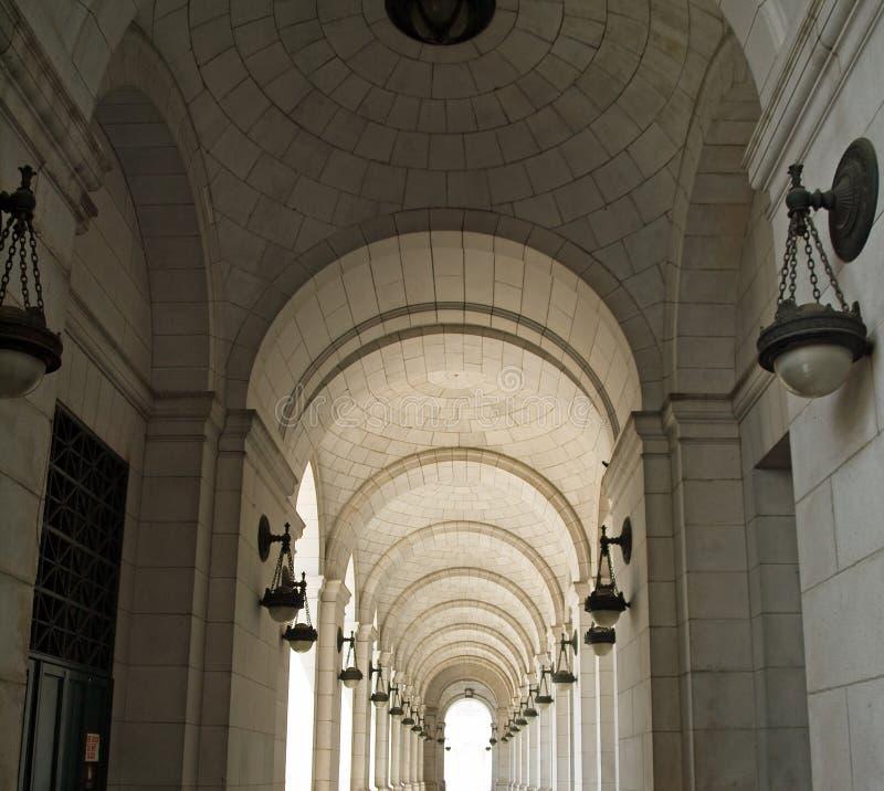 Archways przy zjednoczenie stacją fotografia royalty free