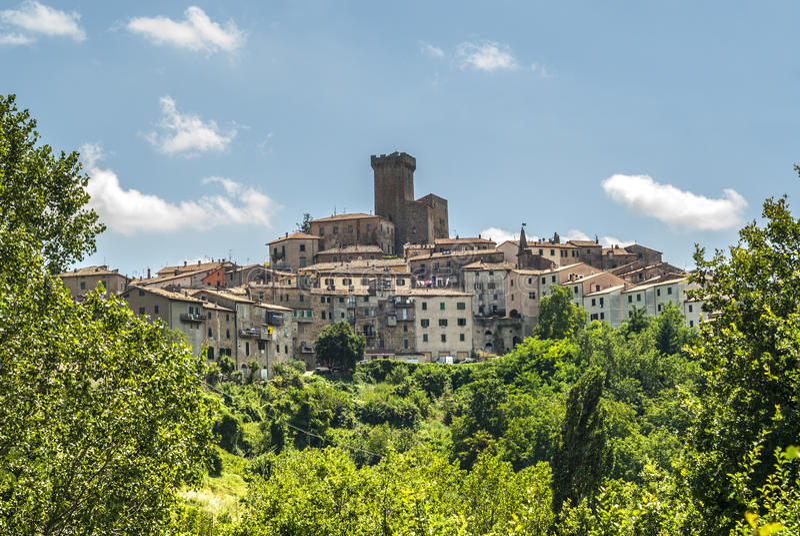 Arcidosso (Тоскана) стоковое фото