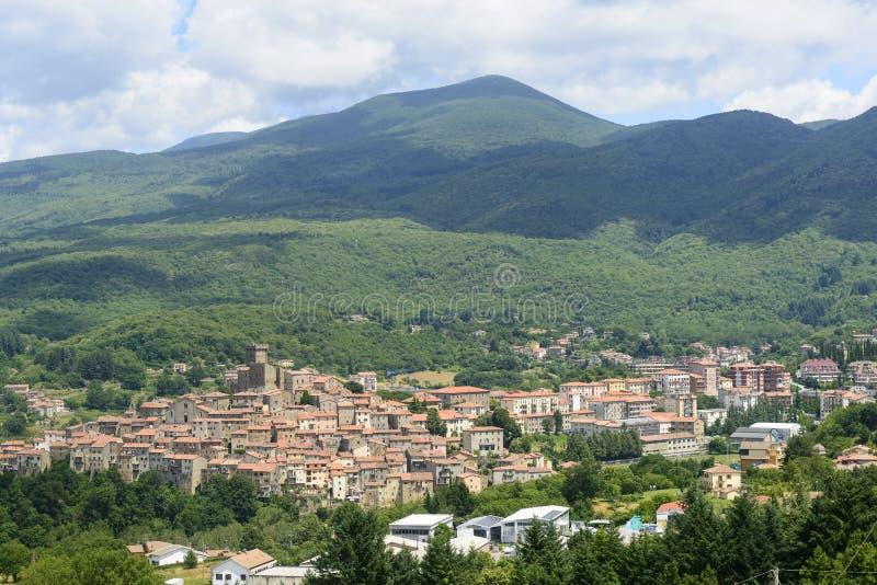 Arcidosso (Тоскана, Италия) стоковые изображения