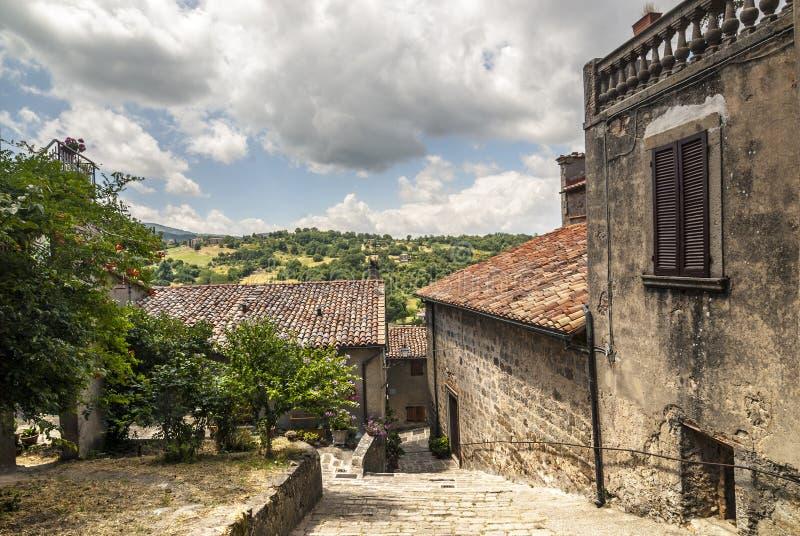 Arcidosso (Tuscany) royaltyfria bilder