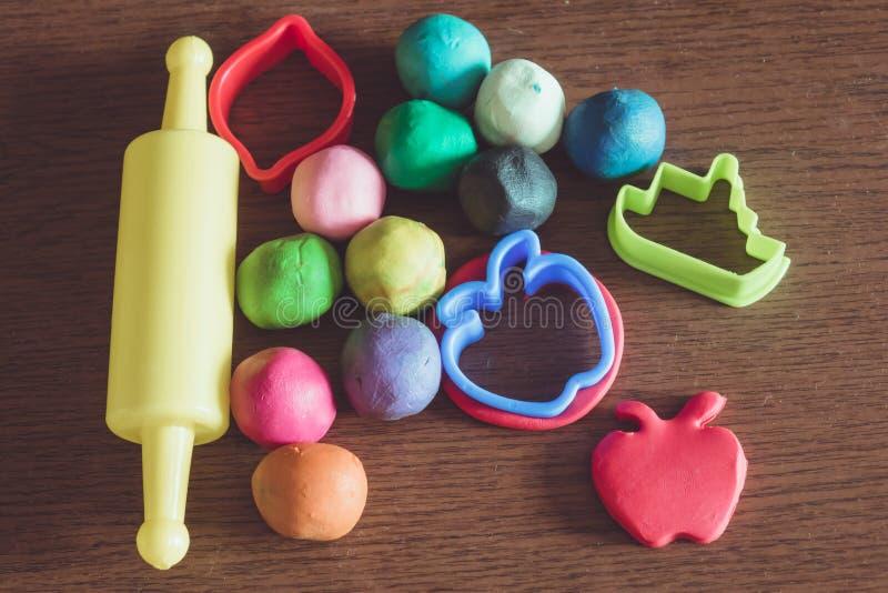 Arcilla, ideas del juguete imagenes de archivo