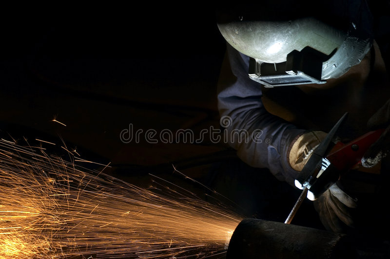 Download Arcing at night stock image. Image of technical, wear - 1276337
