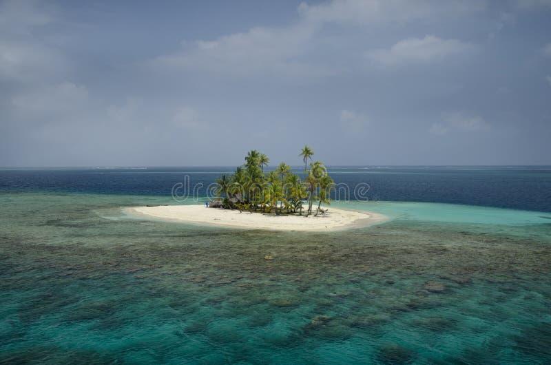 Arcipelago di San Blas fotografia stock